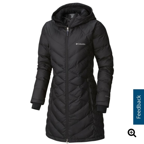 NEW Columbia Heavenly Long Hooded Jacket Boutique